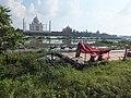 DSCF4880-Taj-Mahal-North-facing-view-from-Mehtab-Bagh-across-the-Yamuna-river-showing-buffalos-walking-in-the-marsh-by-Manish-Jhawar.jpg