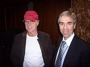 Dalton Delan - Delan in rehearsals with Robert Redford on October 15, 2006 for the Kennedy Center Mark Twain Prize for American Humor, honoring Neil Simon.