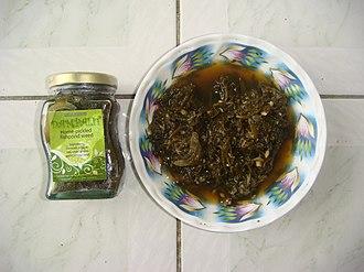 Sesuvium portulacastrum - Atsara, a Philippine condiment often featuring dampalit