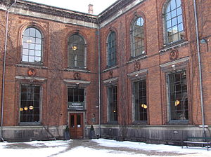 Danish National Art Library - The Danish National Art Library's main entrance