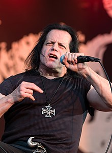 Danzig performing at the Wacken Open Air (2018)