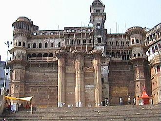 Munshi Ghat - Darbhanga Palace in Munshi Ghat in 2003