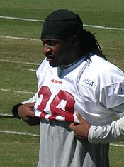 Dashon Goldson at 49ers training camp 2010-08-11 1.JPG