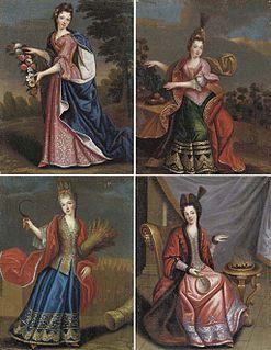 Anne Marie de Bourbon French princess