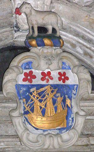 John Davie - Image: Davie Arms Buckland Brewer Church Devon