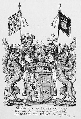 Coloma family - Crest