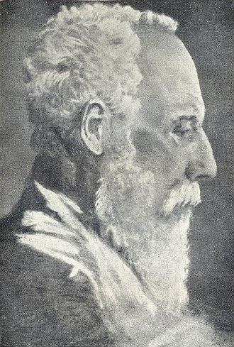 Debendranath Tagore - Portrait of Debendranath Tagore