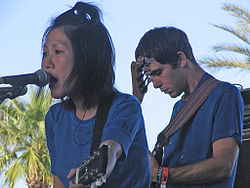 I Deerhoof in concerto a Coachella