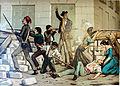 Defensa de la barricada de la calle Sevilla (Segunda parte de la Guerra Civil. Anales desde 1843 hasta el fallecimiento de don Alfonso XII).jpg