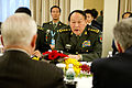 Defense.gov News Photo 110603-D-XH843-007 - Chinese Defense Minister Gen. Liang Guanglie meets with Secretary of Defense Robert M. Gates at the Shangri-La Hotel in Singapore during the 10th.jpg