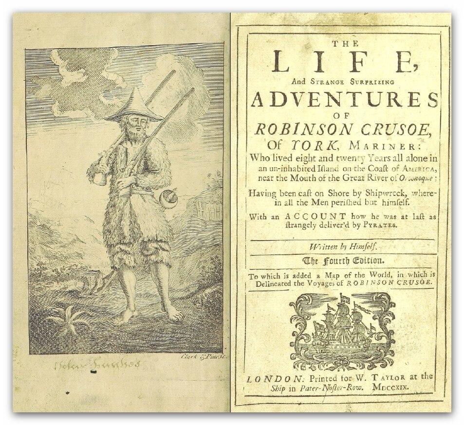 Defoe (1719) Robinson Crusoe