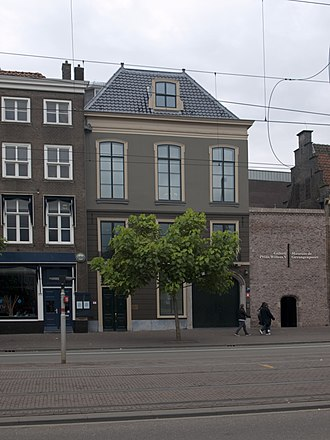 Gevangenpoort - The new entrance to both the Galerij Prins Willem V and the Museum Gevangenpoort