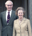 Denis and Margaret Thatcher in 1984.png
