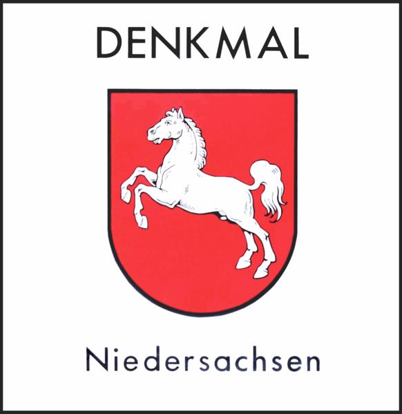 Datei:Denkmalplakette Niedersachsen ab 2018.png