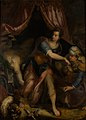 Denys Calvaert - Judith with the Head of Holofernes - KMS981 - Statens Museum for Kunst.jpg