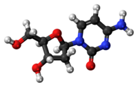 Deoxycytidine 3D ball.png