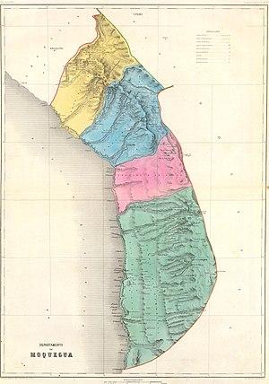 Arica Province (Peru) - Arica 1865