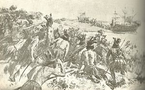 Río de la Plata - Discovery of the Río de la Plata by Juan Díaz de Solís. He would be attacked and killed by Charrúas later.