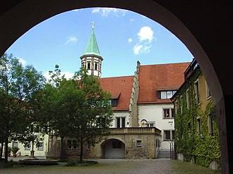 Heilbronn - The Deutschhof.