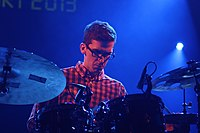 Deutsches Jazzfestival 2013 - Troyka - Joshua Blackmore - 02.JPG