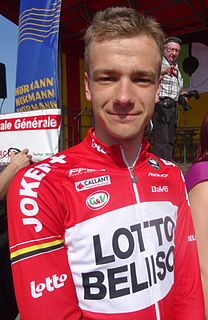 Kevin Deltombe cyclist