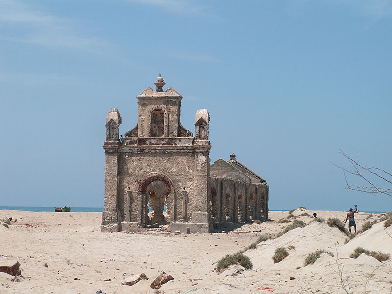 File:Dhanushkodi church ruin (1).jpg