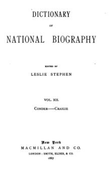Dictionary of National Biography volume 12.djvu