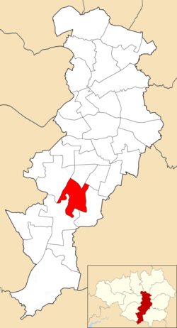 Didsbury West electoral ward within Manchester City Council