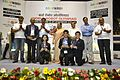 Dignitaries with Prize Winners - Valedictory Session - Indian National Championship - WRO - Kolkata 2016-10-23 9034.JPG