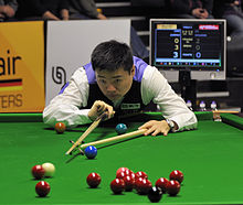 Ding Junhui at Snooker German Masters (DerHexer) 2013-01-30 07.jpg