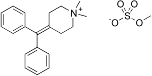 Diphemanil metilsulfate - Image: Diphemanil metilsulfate
