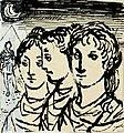 Disegno per copertina di libretto, disegno di Peter Hoffer per Il flauto magico (s.d.) - Archivio Storico Ricordi ICON012437.jpg