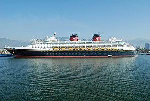 Disney Wonder - Disney Wonder in Puerto Vallarta