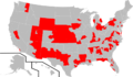 Districts Represented by members of the Congressional Constitution Caucus.png