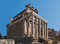 Divo Antonino Diva Faustina Temple Forum Romanum.jpg