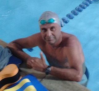 Djan Madruga Brazilian swimmer