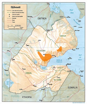 Djibouti Francolin distribution.png