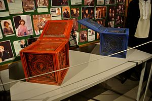 The Zygon Inversion - The two Osgood Boxes, as shown at the Doctor Who Experience.