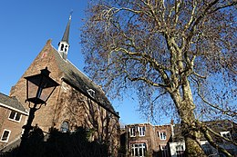Dolehof Utrecht (view of Lutheran church).jpg