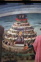 Domenico di michelino, Dante con in mano la Divina Commedia, 1465, 03 purgatorio.JPG