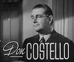 Schauspieler Don Costello