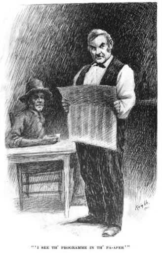 Mr. Dooley - Dooley (right) and Hennessy, by E. W. Kemble (1900)
