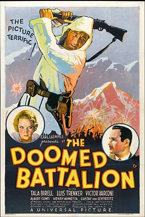 Doomed Battalion - Theatrical release poster