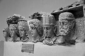 Door lintel from Hatra. 2nd-3rd century AD. Sulaymaniyah Museum, Iraqi Kurdistan
