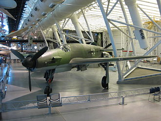 Dornier Do 335 at the Steven F. Udvar-Hazy Center.JPG