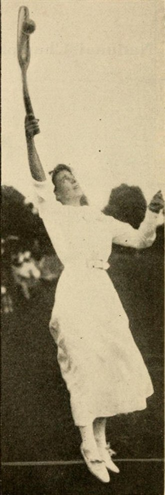 Dorothy Green (tennis) - Green in 1911