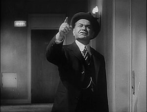 Edward G. Robinson - In Billy Wilder's Double Indemnity (1944)
