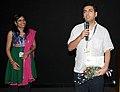 "Dr. Nirmal Chander, Director addressing at the presentation of the film ""Dreaming Taj Mahal"", at the 43rd International Film Festival of India (IFFI-2012), in Panaji, Goa on November 28, 2012.jpg"