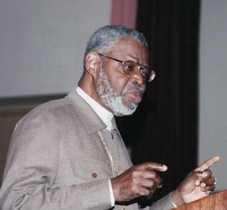 Yosef Ben-Jochannan - Ben-Jochannan lecturing in Brooklyn circa 1990s.