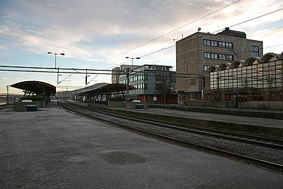 How to get to Drammen stasjon with public transit - About the place